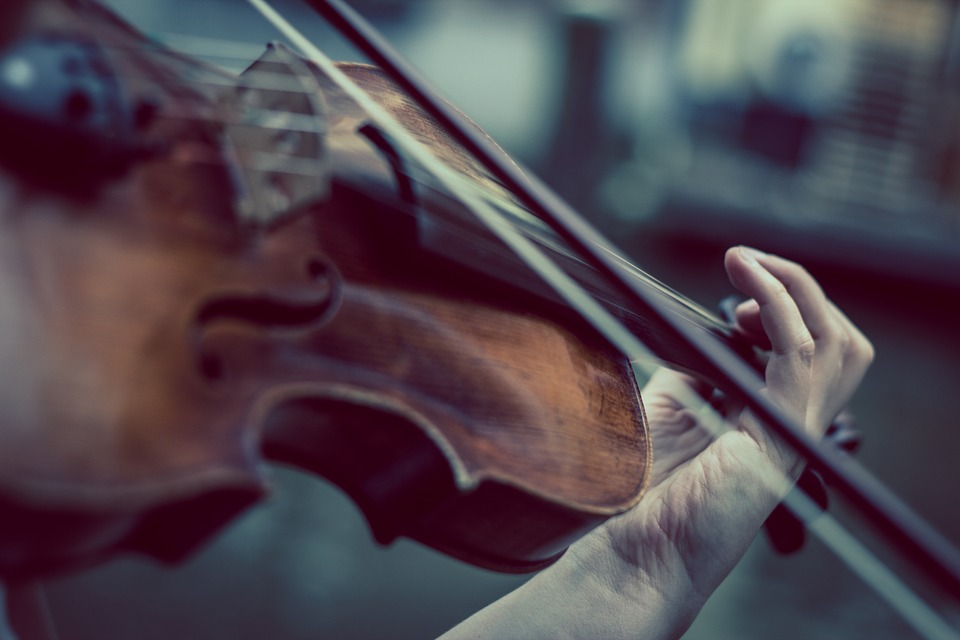how does playing an instrument relieve stress