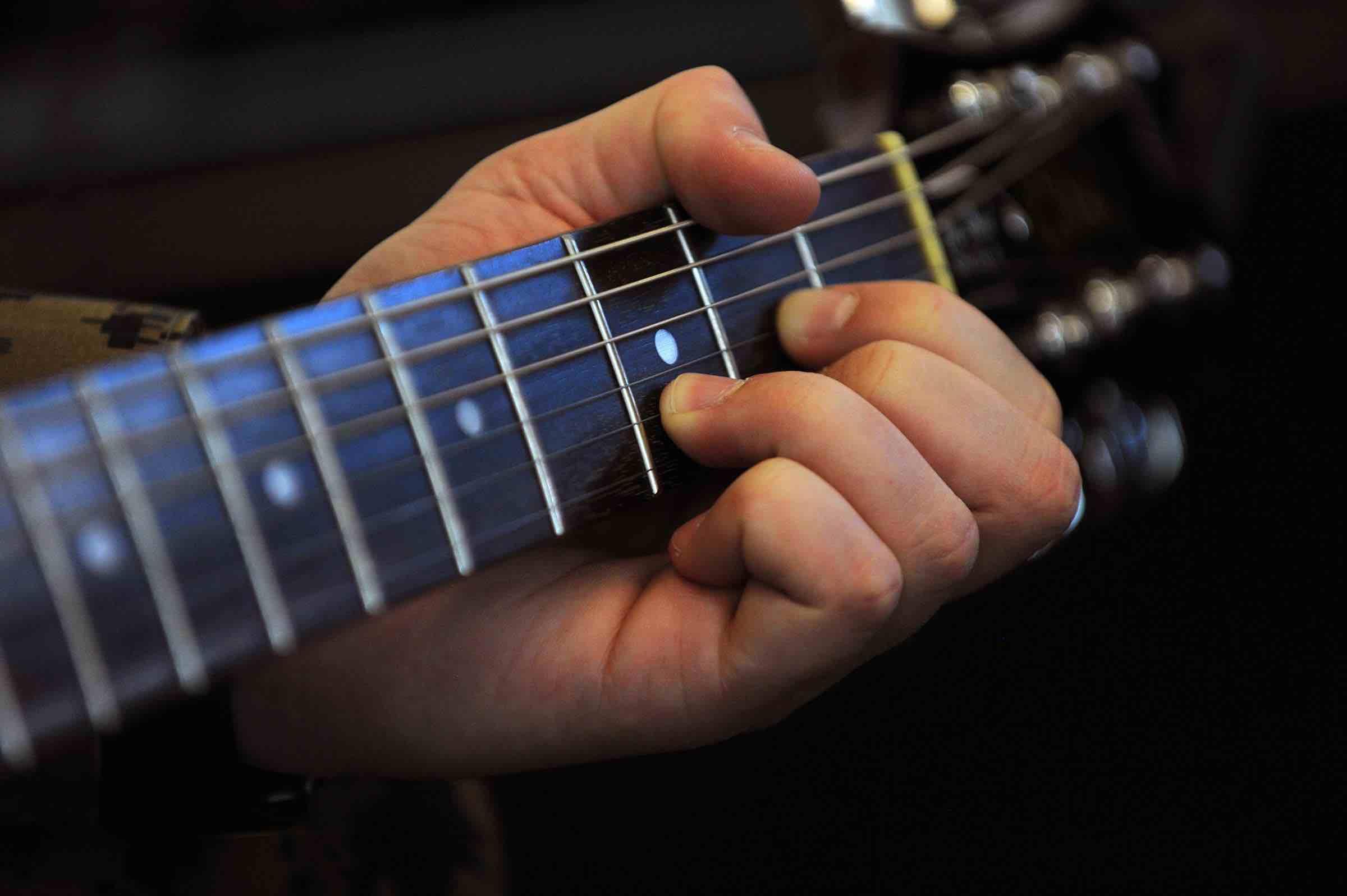 beginner guitar player